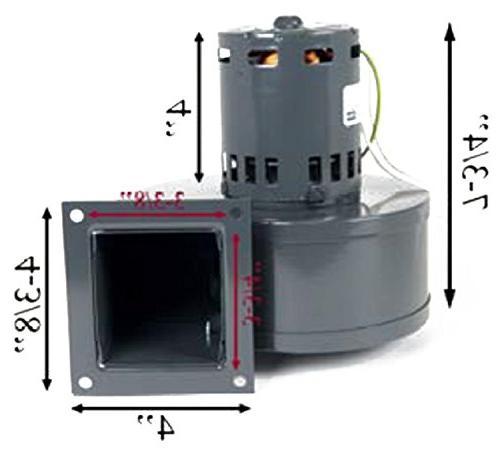 PelletStovePro - 20 & Stove Room Convection Fan