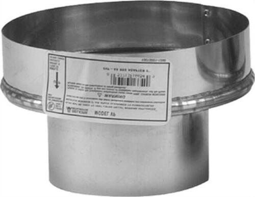 Adapter Chimney Pellet 3x8in, Pack of 2, PartNo 243826, by S