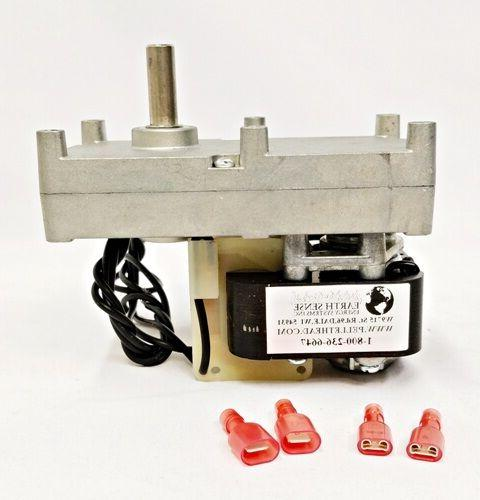 auger feed motor pellet stove 1 rpm
