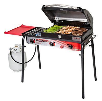 big gas 3 burner grill