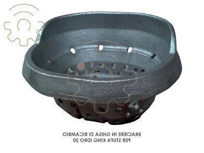 brazier cast iron parts for pellet stove