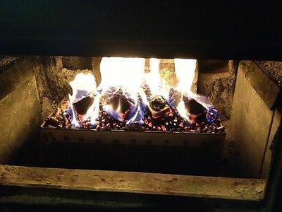 CAST WOOD STOVE burns LOGS and WOOD Cast Iron ANTIQUE