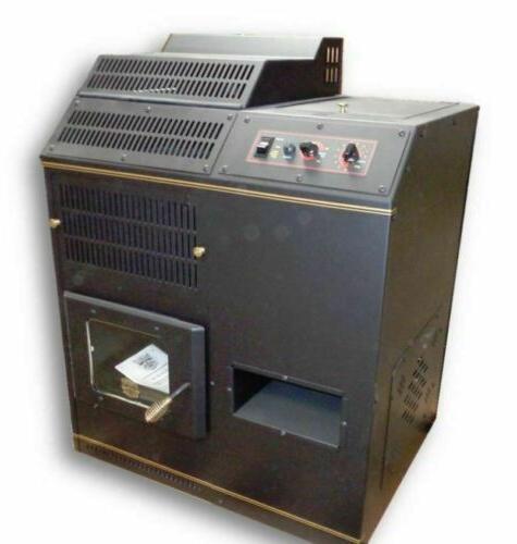 corn pellet burning stove fireplace freestanding adjustable