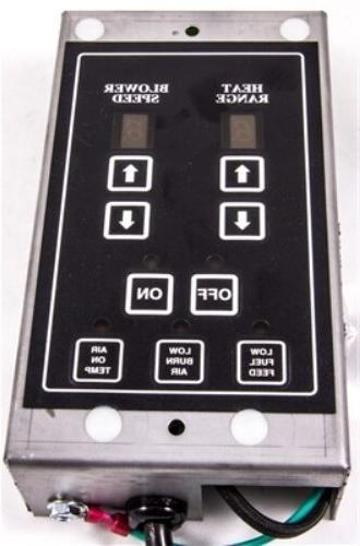 digital control board for pellet stove built