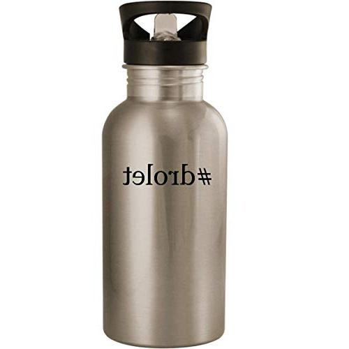 drolet stainless steel 20oz road ready water