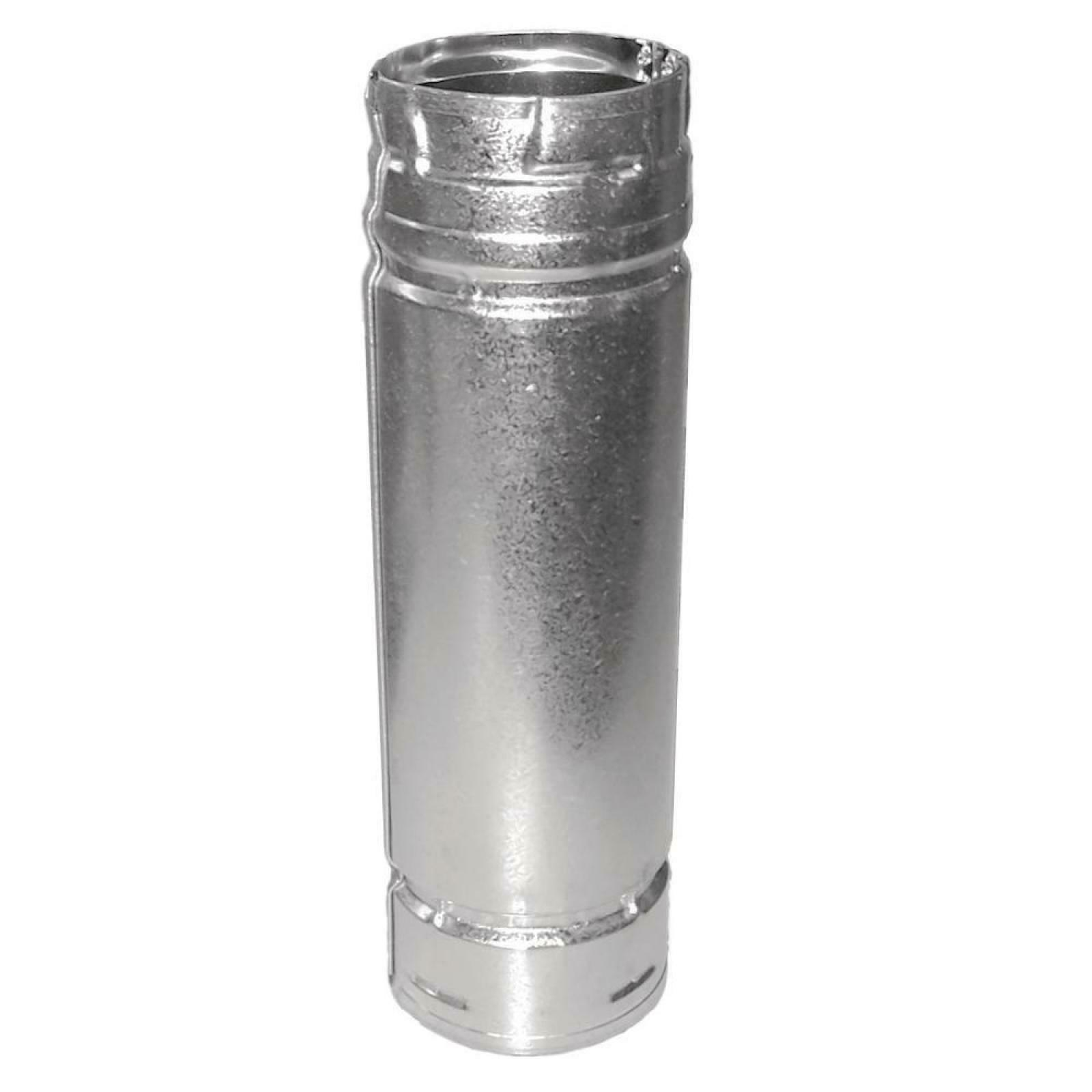 """Durable PelletVent 4"""" x 60"""" Double-Wall Chimney Stove Pipe F"""
