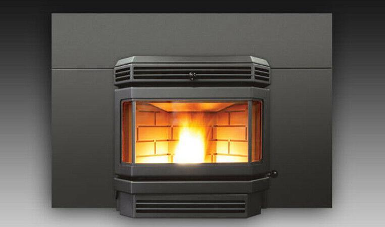 ef3 pellet stove insert w oversized surround