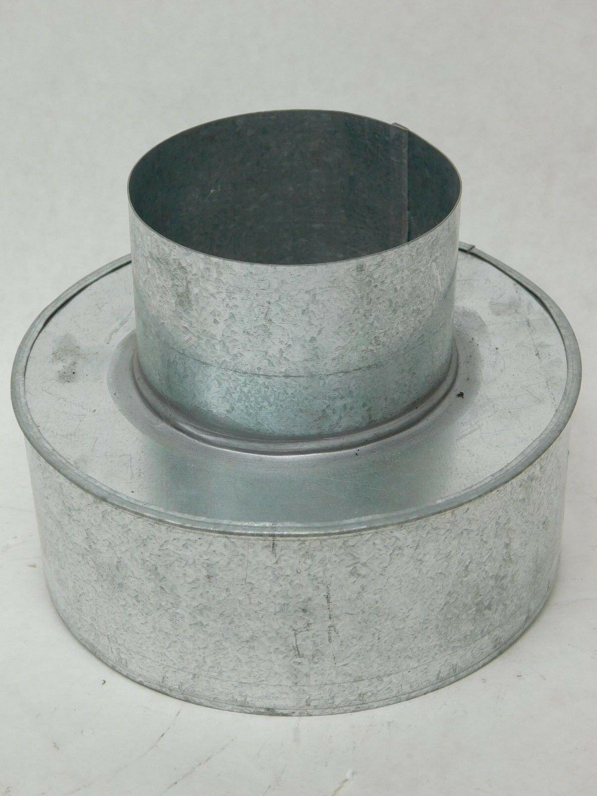 galvanized steel adapter reducer 4 to 6