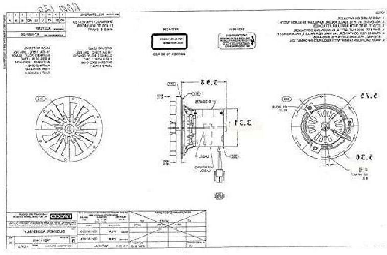 Rotom HB-RBM120 Stove Blower Motor 1/60 3000 rpm, 0.3 Amp., 115V