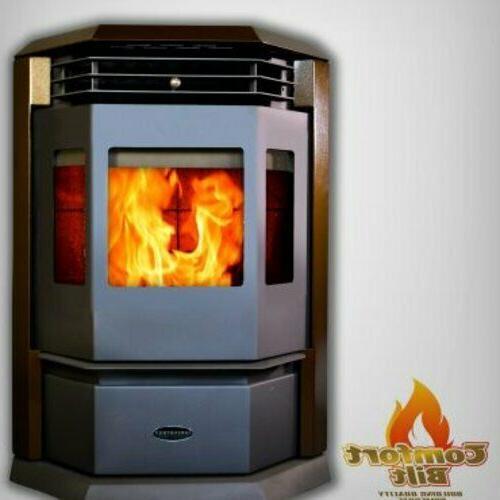 hp22 brown pellet stove fireplace 50000 btu