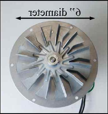 KS5020-1040 Combustion Blower w Gasket