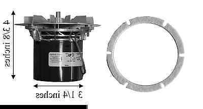 pellet stove combustion exhaust motor w gasket