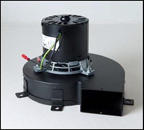 pellet exhaust combustion motor blower