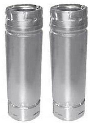 """M & G DURAVENT 3PVL-36R 3"""" x 36"""" Pellet Vent Pipe"""