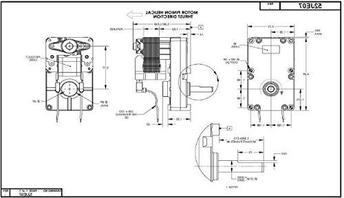 """Dayton Motor 3/8"""" RPM"""