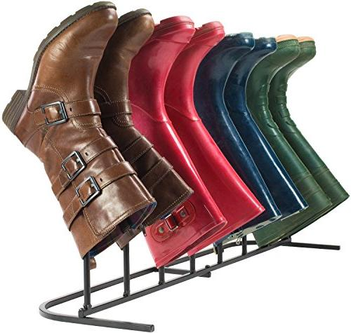 modern standing boot rack creative