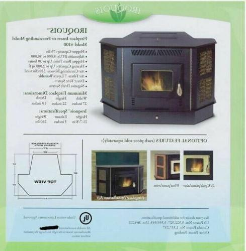 New Stove to 50,000 BTU Fireplace