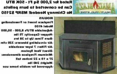 New Corn Burning Stove Up BTU Fireplace