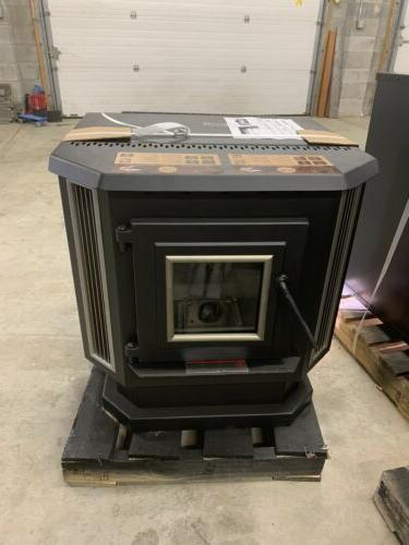 new pellet burning stove 2 200 sq