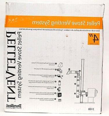 new pelletvent 4 pellet stove venting system