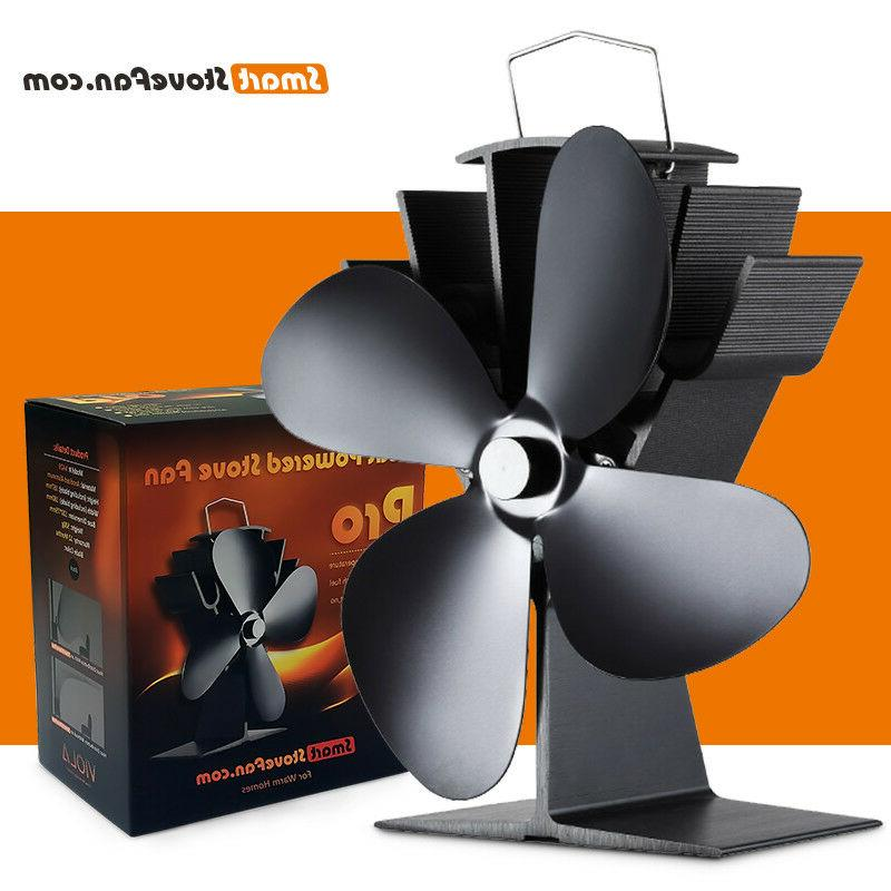 packaging defectivesilent heat powered wood stove fan