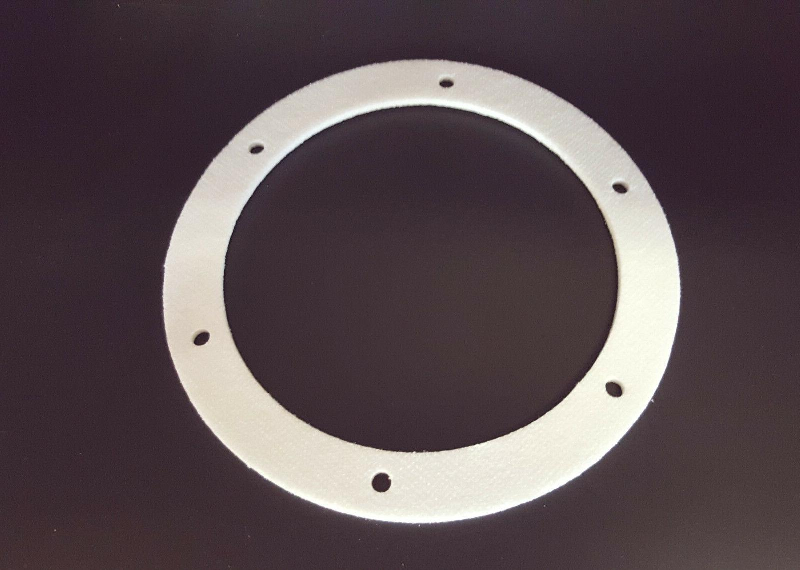 """Pellet Stove 6"""" Round Mount Gasket; Exhaust / Combustion. Fi"""