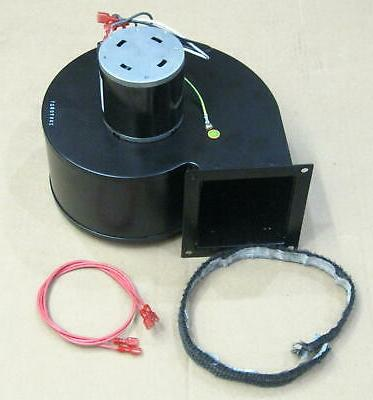 pellet stove convection blower motor assembly