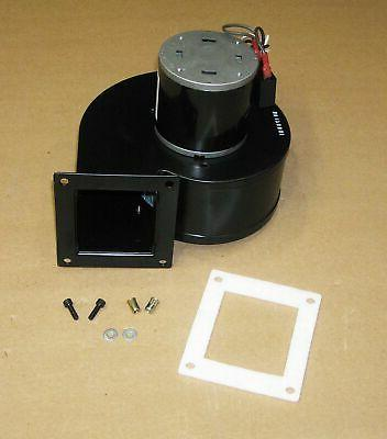 pellet stove convection distribution blower motor assembly