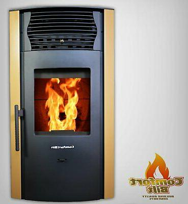pellet stove fireplace 42000btu