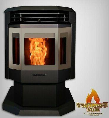 pellet stove fireplace 44 000 btu hp21