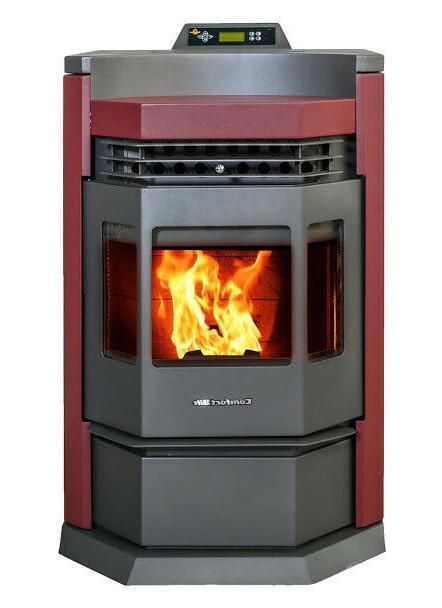 pellet stove hp22 n attractive burgundy 50000