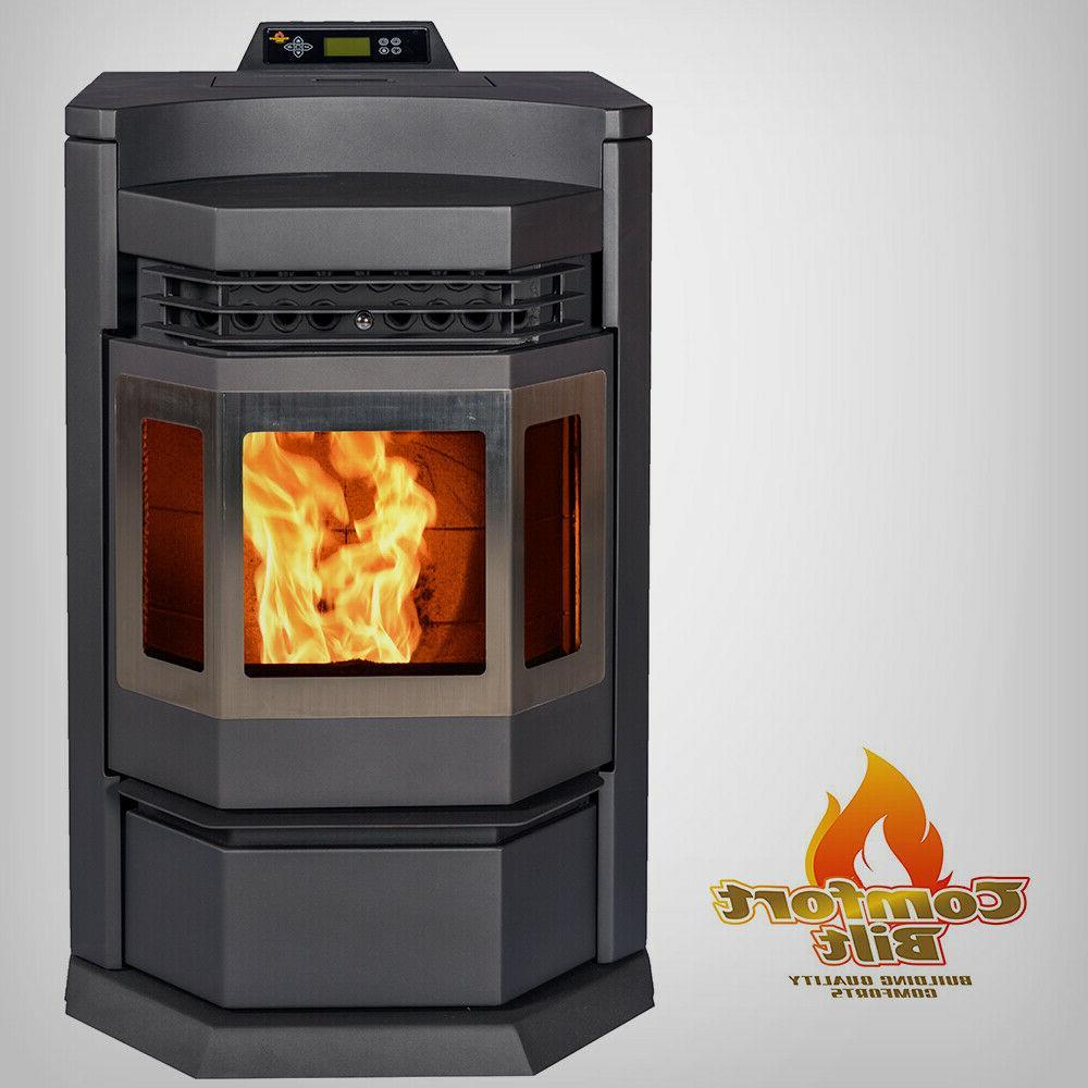 pellet stove hp22 n black 50000 btu