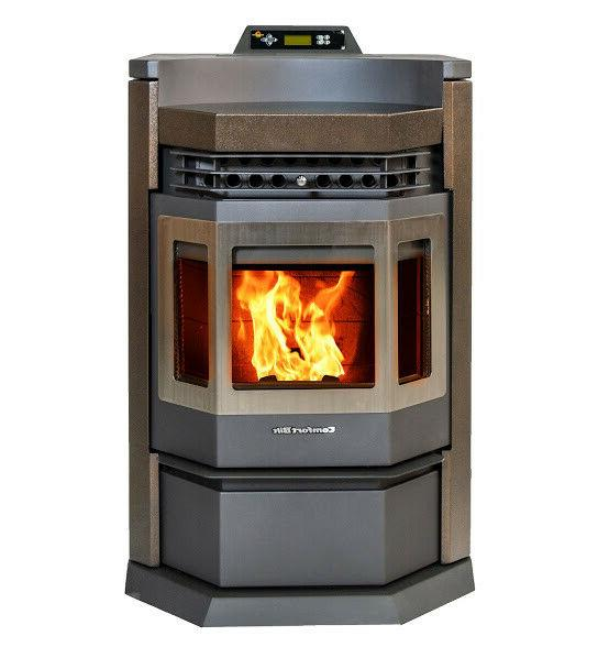 pellet stove hp22 n golden brown 50000