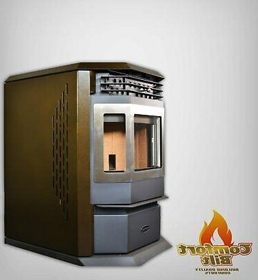 Pellet Stove SS 50000 btu Stainless
