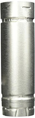 M&G DURAVENT INC Pellet Vent Stove Pipe, Twist Lock, 3 x 12-