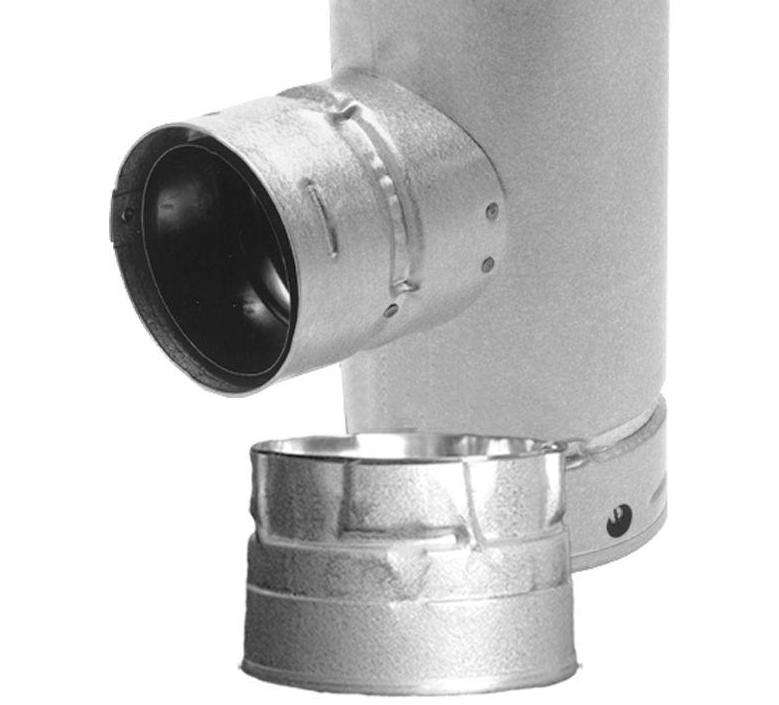DuraVent Pipe Increaser Tee Out Cap Insert