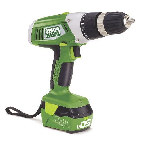 PowerSmith 20v Drill/Impact Combo Green