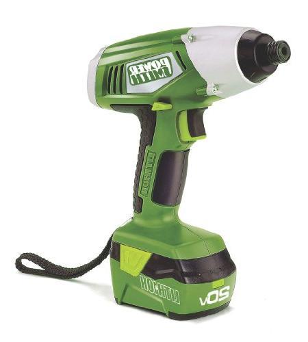 PowerSmith PL20DIDK2 Drill/Impact Combo Green