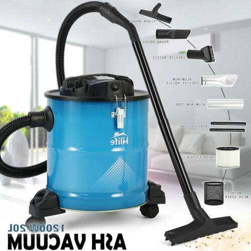 portable 1200w ash can vacuum cleaner filter