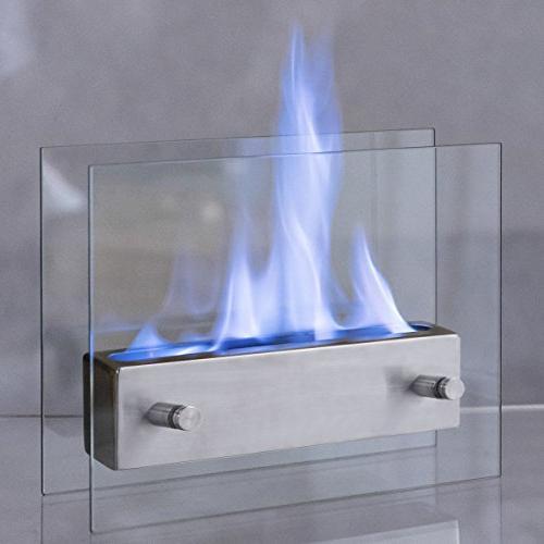 portable tabletop ventless bio ethanol
