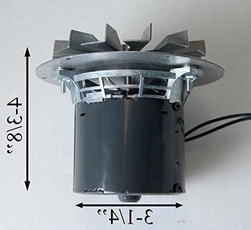 Whitfield Exhaust Motor, Mounting Hub, 12156009, A-E-027, Pellet Stoves