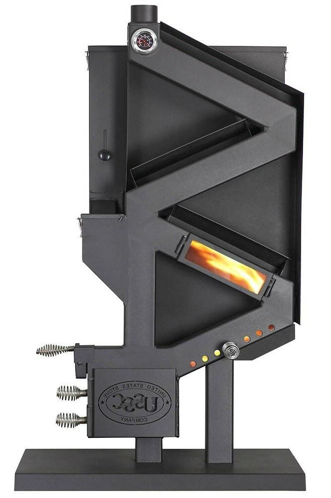 Wiseway PELLET STOVE Non-Electric Gravity GW1949 Grid Emergency Heater