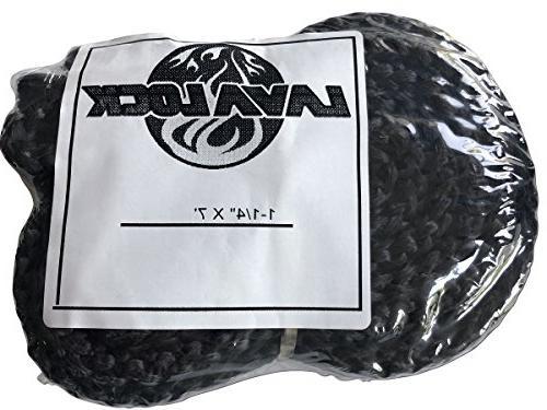 x foot black fiberglass wood