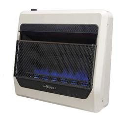 New Lost River Dual Fuel Ventless Blue Flame Gas Space Heate