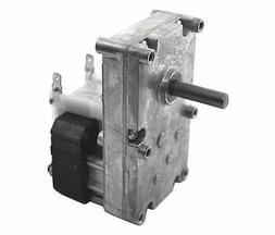 "Dayton Model 52JE08 Gear Motor 3/8"" Shaft 6 RPM CCW 115V"