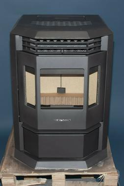 new hp22 carbon black pellet stove fireplace