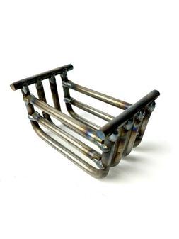 ! NEW ! Replacement Steel Burn Basket Pot for Wiseway Pellet