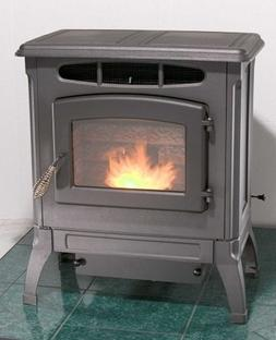 BRECKWELL P4000 Classic Cast WOOD PELLET Stove, Standard MAT