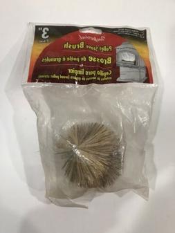 3In Pelet Stove Brush 1/4-20Mt