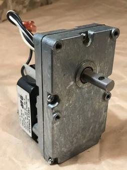 Pellet Stove Auger Feed Gear Motor 2 RPM CW 120V Works Great